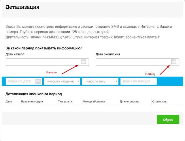 детализация теле2 казахстан