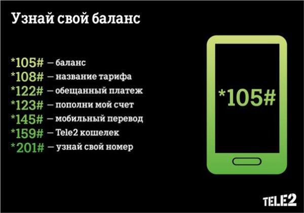 как узнать баланс на теле2 казахстан